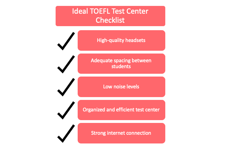 Ideal TOEFL test center